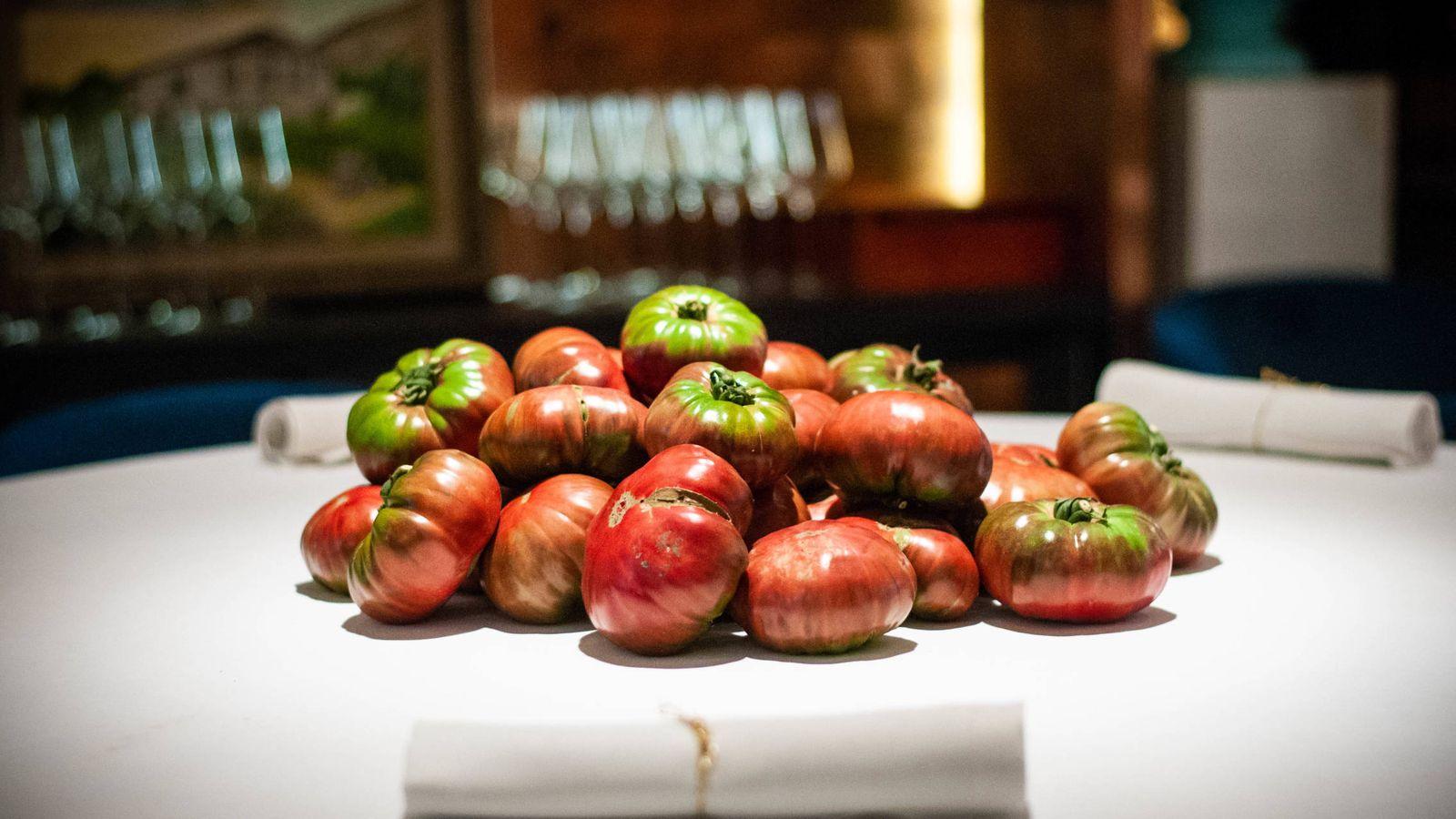 Foto: Los tomates de la Huerta de Carabaña. (Foto: Carmen Castellón)
