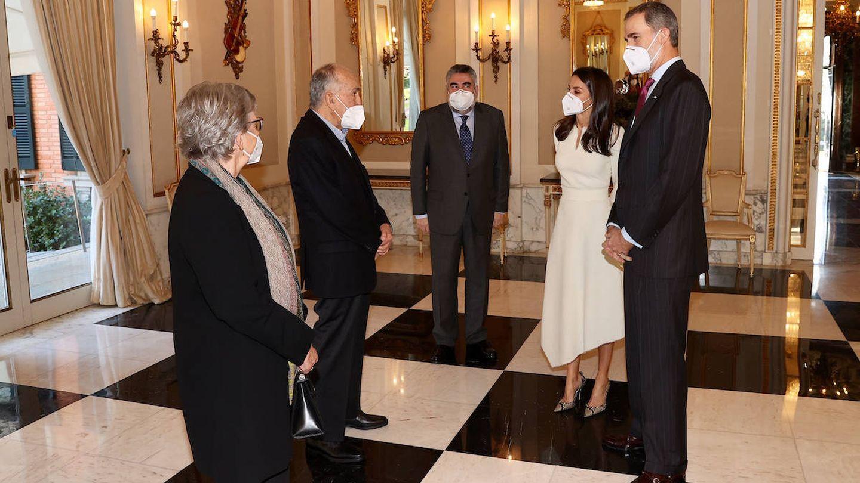 Los Reyes, con Margarit. (Casa Real)