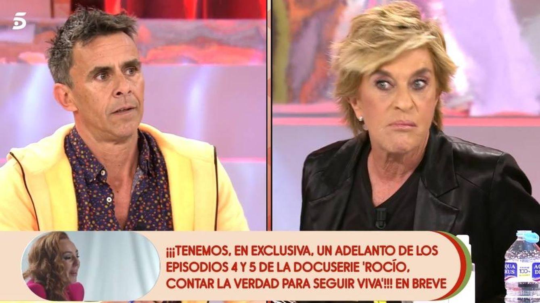 'Sálvame': Bronca entre Chelo García Cortés y Alonso Caparrós por Rocío Carrasco