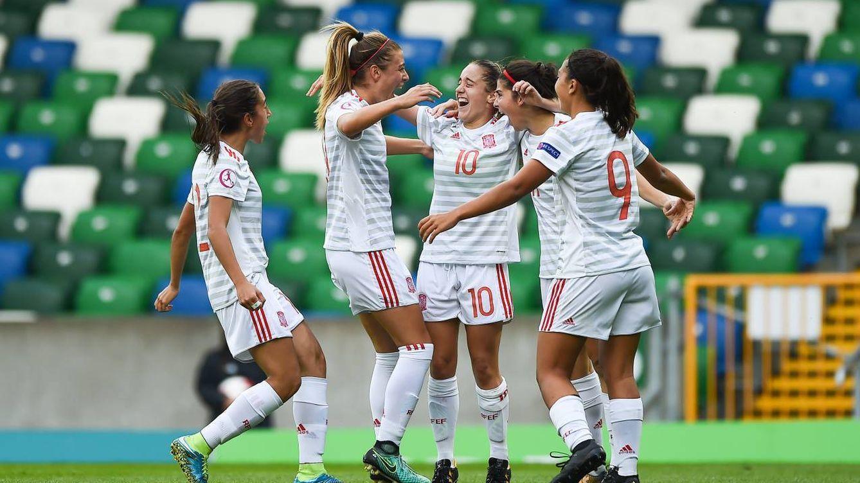 La selección femenina sub 19 se luce, remonta a Francia y gana la Eurocopa