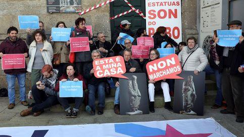 Rajoy dejó la puerta abierta para reclamar a los Franco las tallas del Pórtico de la Gloria