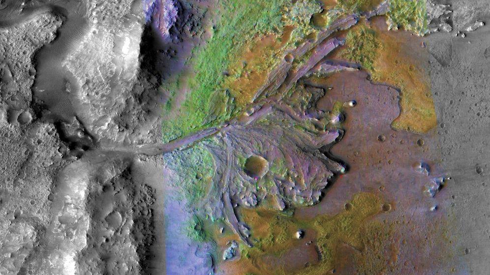 Foto: La NASA buscará señales de vida en un antiguo lago de Marte (Foto: EFE)