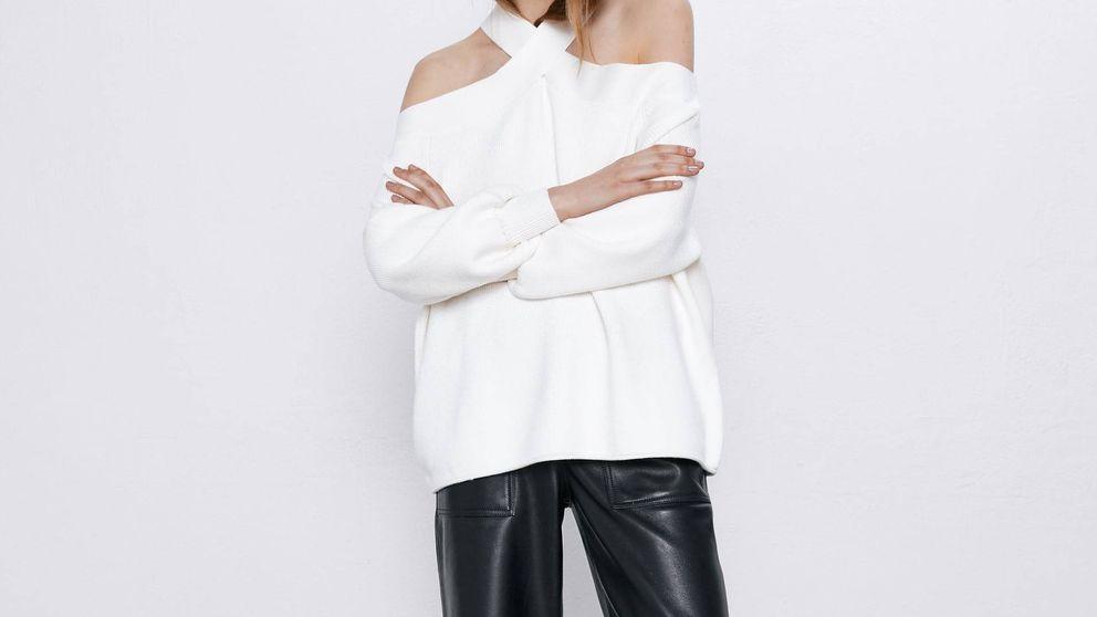 Si te fascinan los jerséis y los escotes, con estos de Zara tendrás un invierno trendy