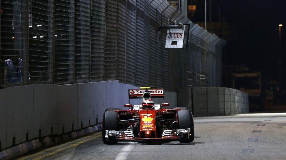 Foto: Kimi Raikkonen en el GP de Singapur.