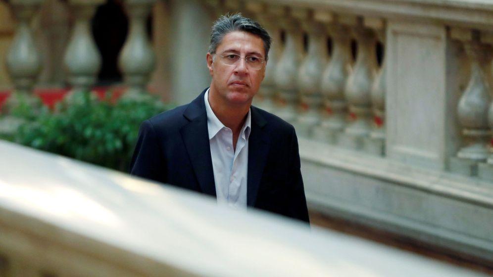 Foto: Xavier García Albiol, durante un pleno del Parlament. (EFE)