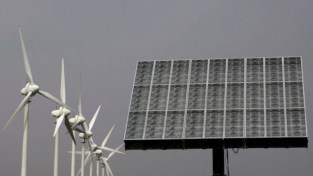Foto: Energías renovables. (EFE)