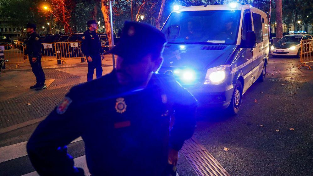 Foto:  Un furgón de la Guardia Civil. (EFE)
