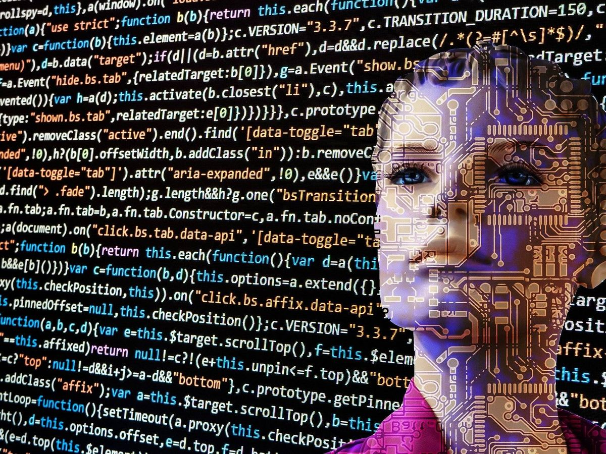 Foto: Inteligencia artificial. (Imagen de Gerd Altmann en Pixabay)