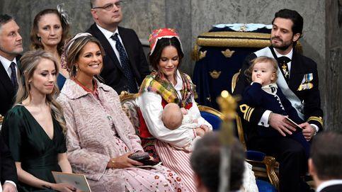 Todas las imágenes del bautizo del príncipe Gabriel de Suecia
