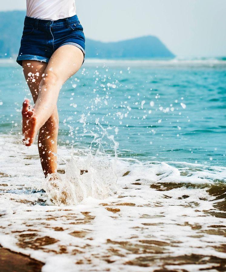 Foto: El agua fría del mar les sentará de cine. (Imagen: Rawpixel)