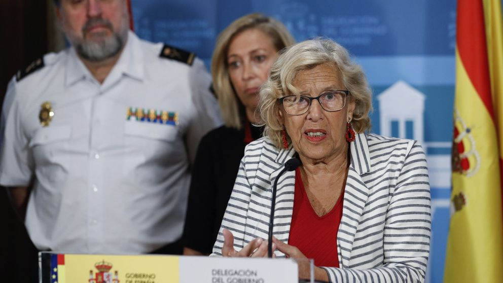 Carmena condena la violencia en Cataluña por no haber sabido escuchar