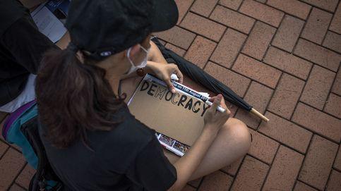 Estudiantes por la Democracia, en Hong Kong