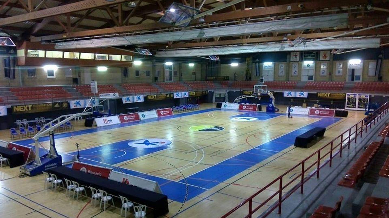 El Poliesportiu del Centre acoge los partidos del torneo. (Foto: CB L'Hospitalet)