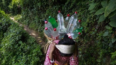 Una mujer nepalí hace frente a la sequía