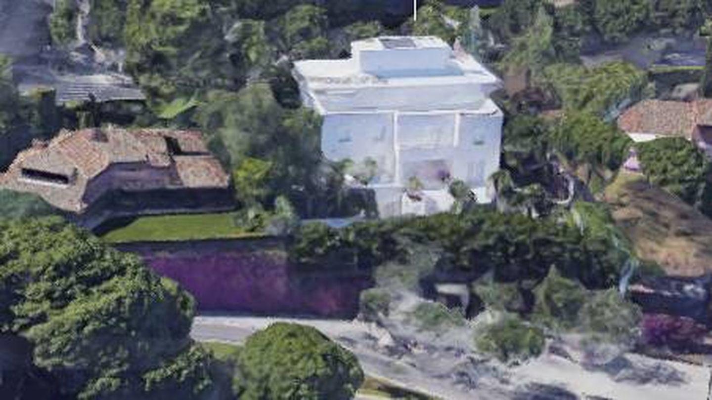 Propiedad de la baronesa en Pedralbes. (Googlemaps)