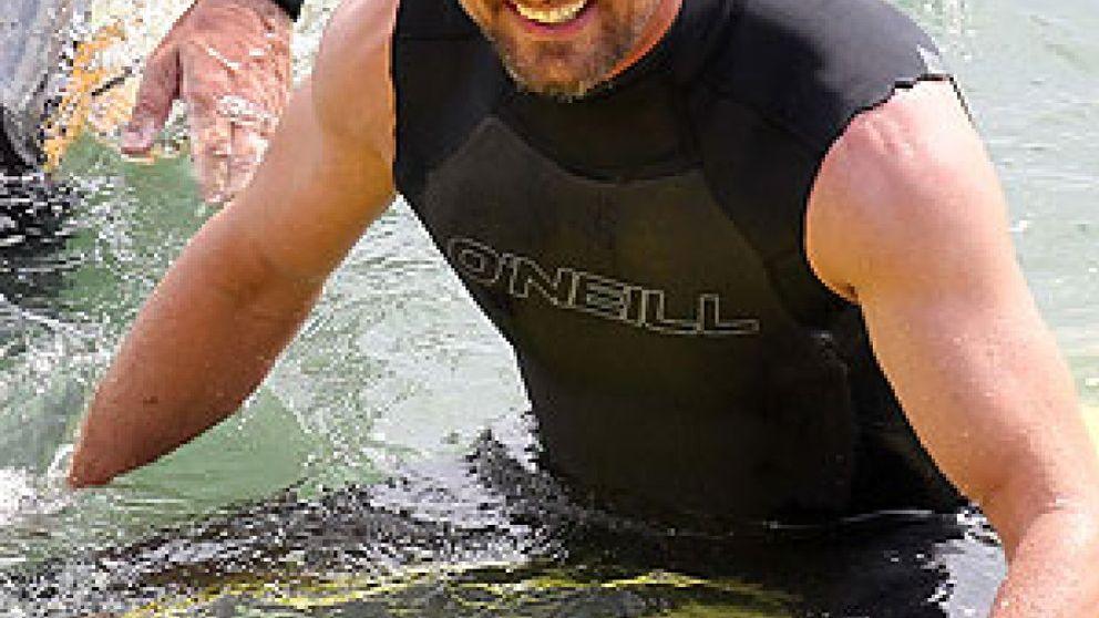 Gerard Butler, hospitalizado tras sufrir un accidente de surf