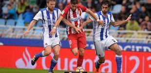 Post de Las estrellas del Atlético se apagan ante el empuje de la Real Sociedad
