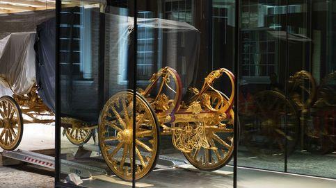 La carroza dorada de los reyes de Países Bajos