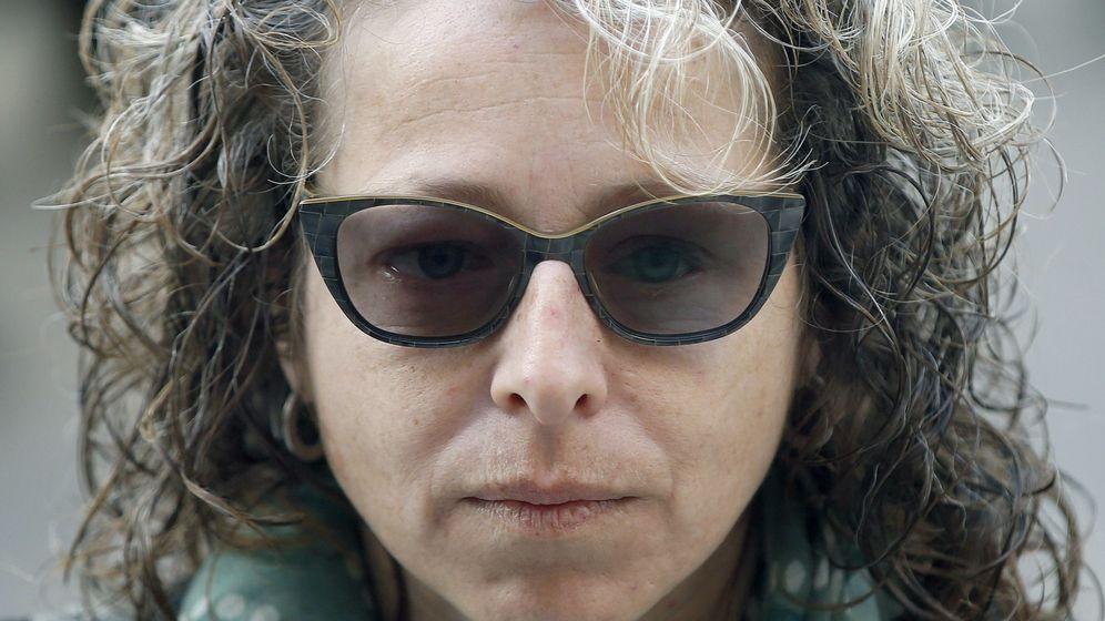 Foto: Ester Quintana, la mujer que perdió un ojo en Barcelona (Efe)
