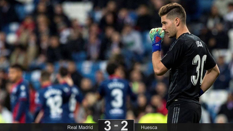 La querencia de Zidane con su hijo Luca en el Madrid para demostrar que hay portero