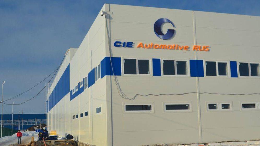 Foto: Planta de Cie Automotive.