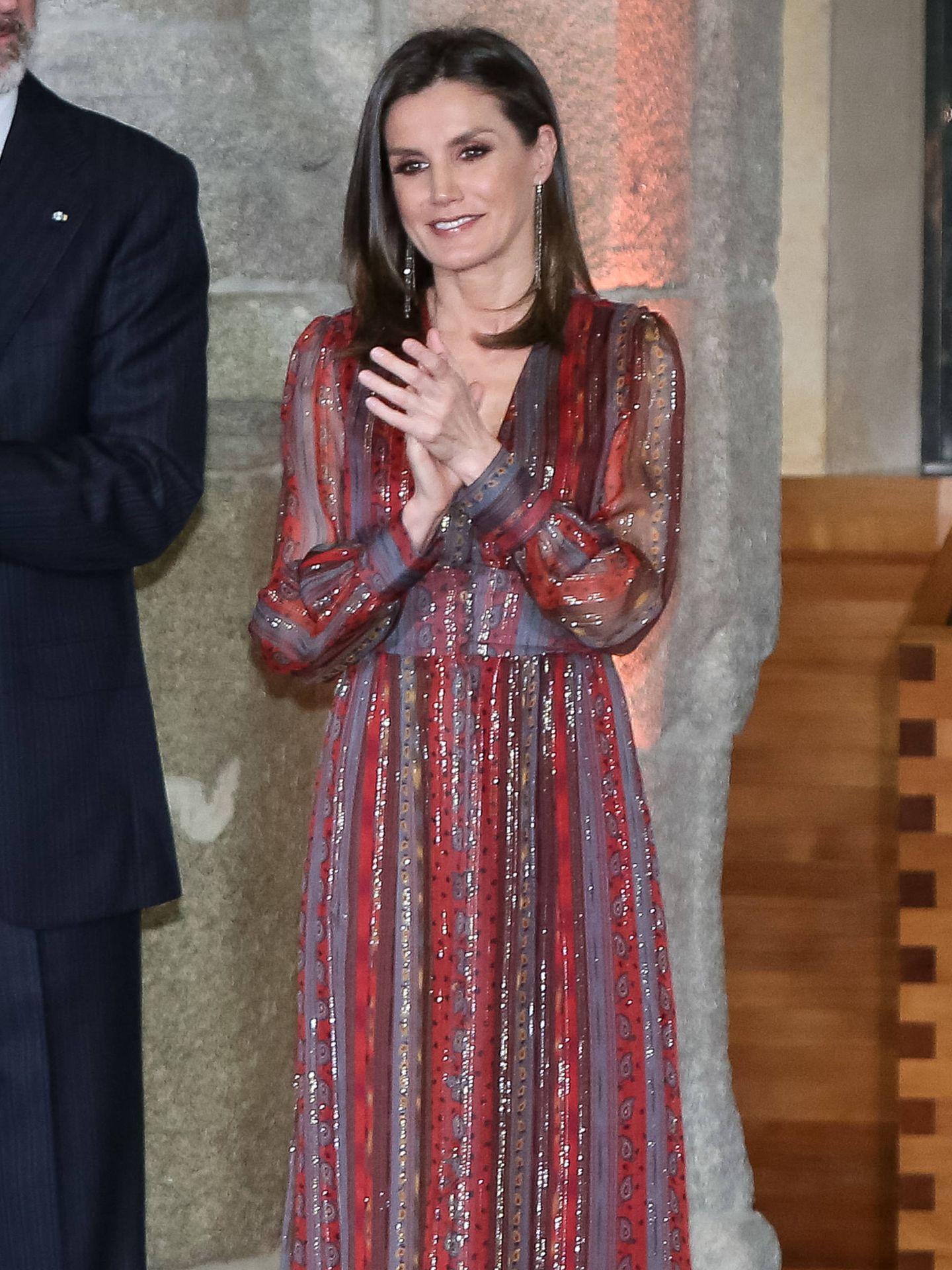 Letizia, en la última entrega de los Premios Nacionales de Cultura. (Getty)