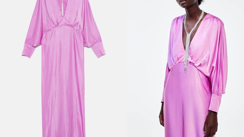 Si te gusta un vestido de la sección Mum, búscalo en Zara Woman. (Cortesía)