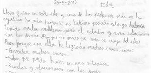 Post de La emotiva carta de un niño con autismo para que no despidan a su maestra