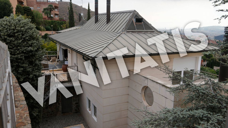 Foto: Detalles de la obra de la nueva casa en Esplugues de Llobregat de Patrick Kluivert. (Vanitatis)