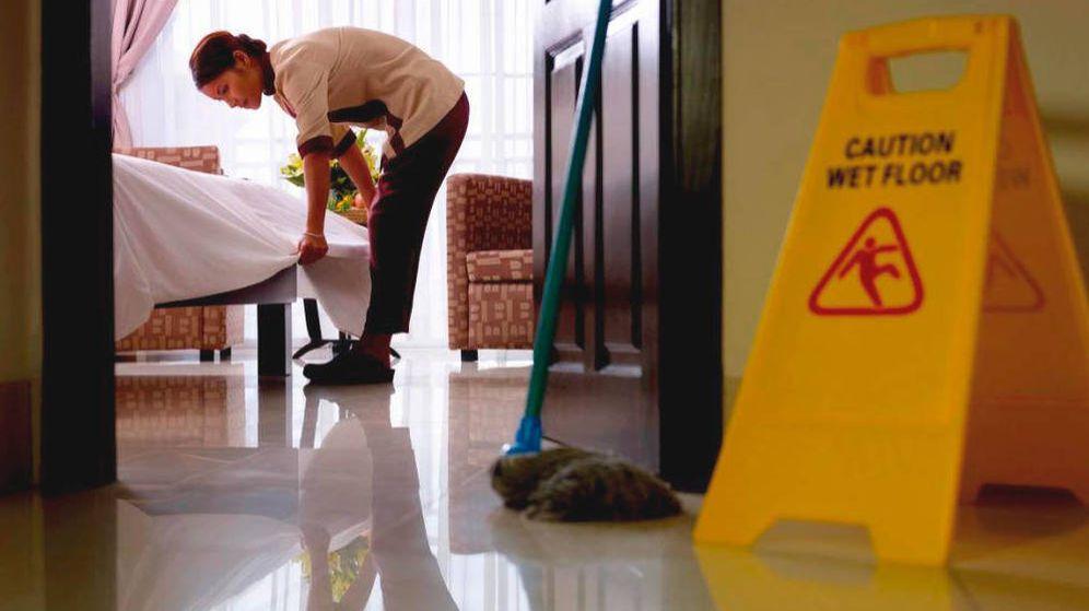 Foto: Las camareras de pisos subcontratadas cobran hasta un 40% menos en la actualidad