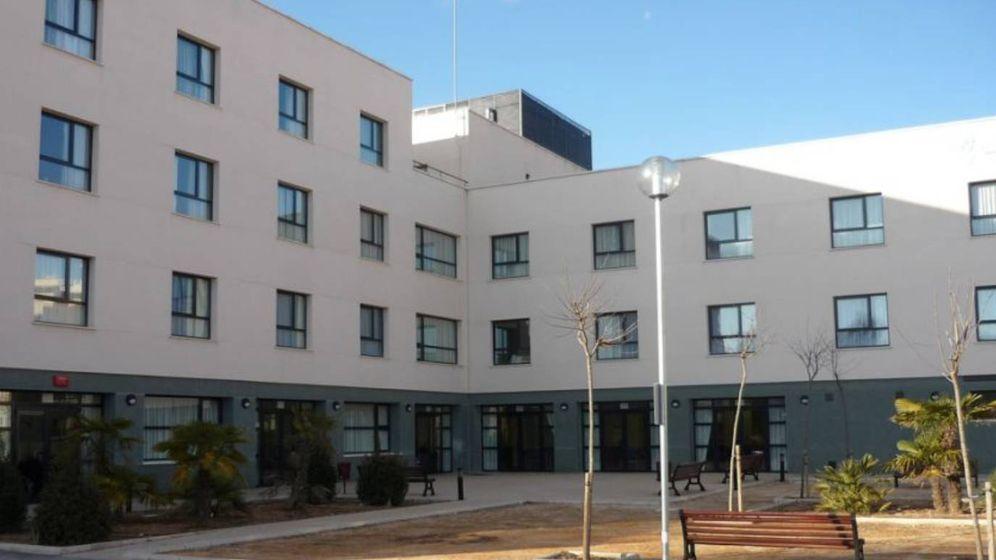 Foto: Una residencia en Requena afectada por el coronavirus