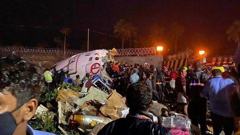 Un avión de Air India con 191 a bordo se parte por la mitad al aterrizar, al menos 2 muertos