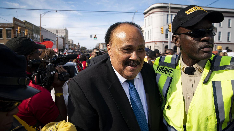 Martin Luther King III, aliado inesperado de Meghan Markle. (EFE)