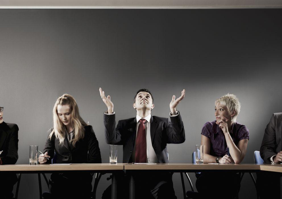 Foto: ¡Aleluya! La solución holística que favorecerá la sinergia de la empresa ha descendido sobre nosotros. (Corbis)