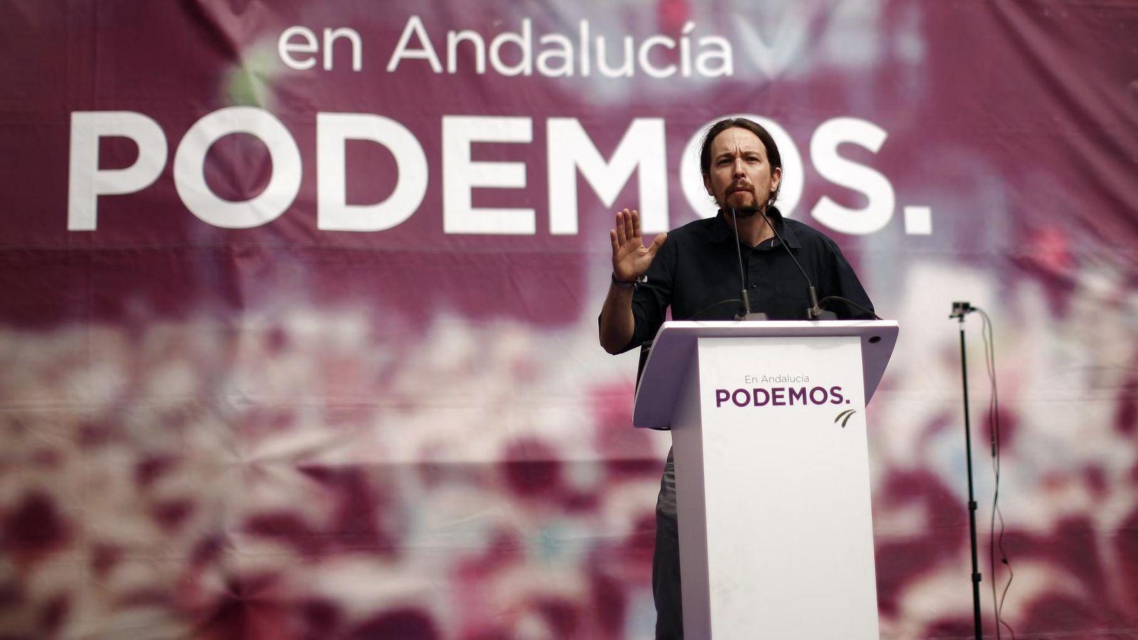 Foto: Iglesias en un mitin en Málaga. (Reuters)