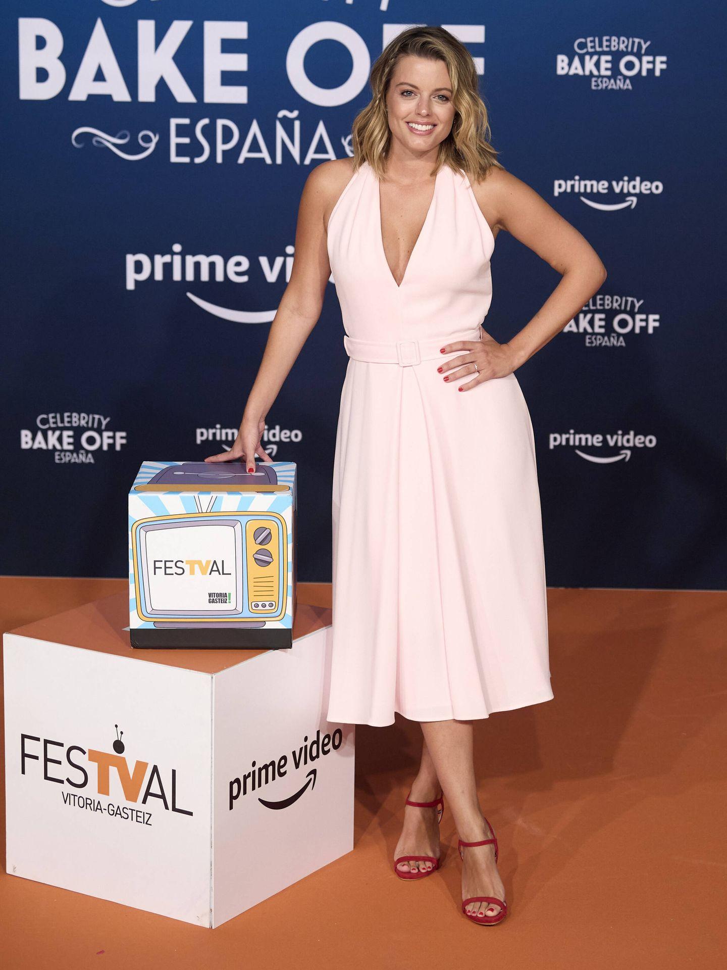 Adriana Torrebejano, en el FesTVal 2021. (Getty)