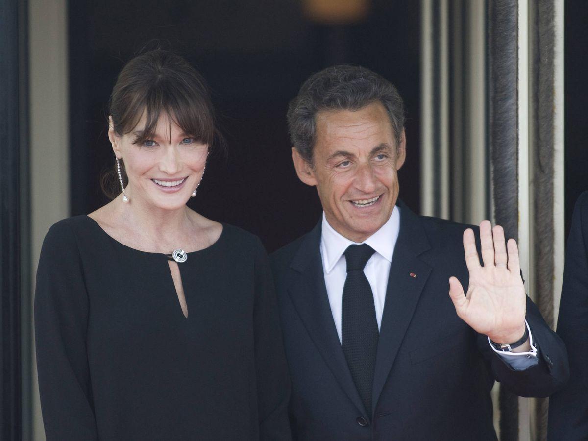 Foto:  Carla Bruni y Nicolas Sarkozy, en una imagen de archivo. (Getty)