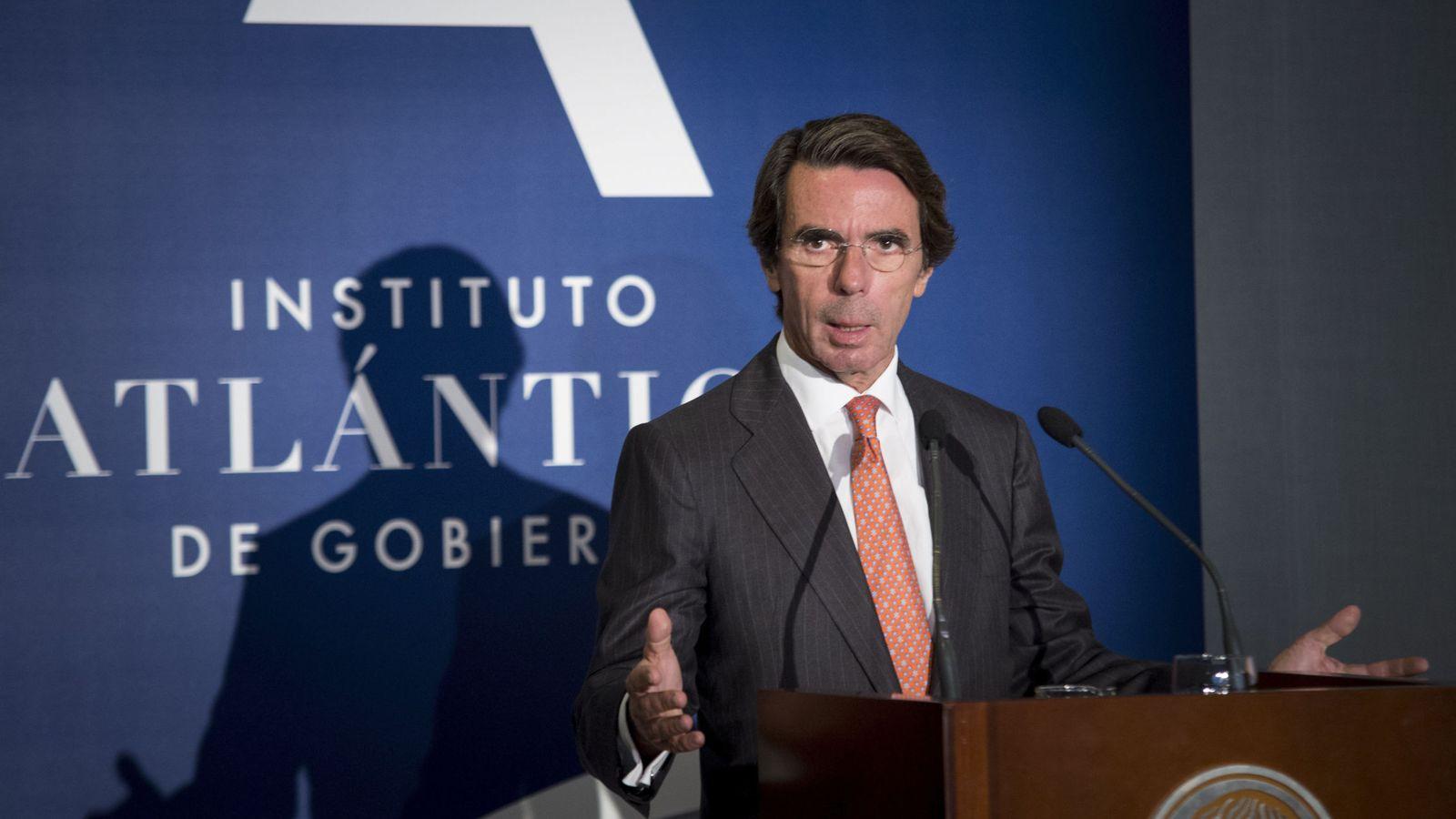 Foto: El expresidente del Gobierno José María Aznar (Efe).