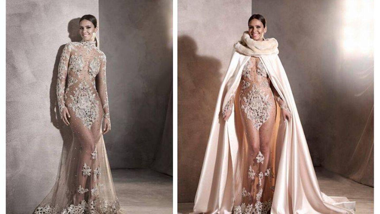 Vestido de Pronovias. (Cortesía)