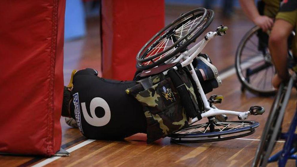 Un soldado sobre ruedas: cómo el rugby en silla cambió la vida del militar Moreno