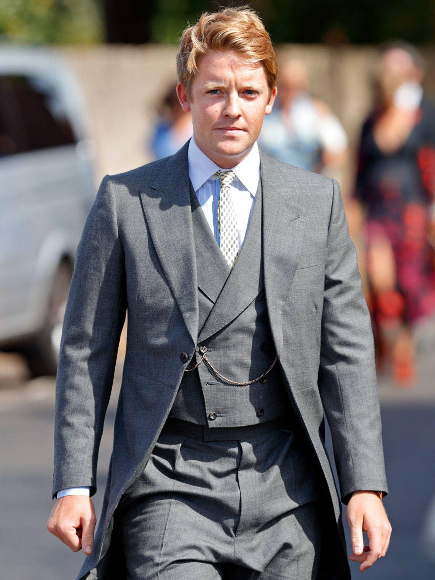 El joven duque, en una boda. (Getty)