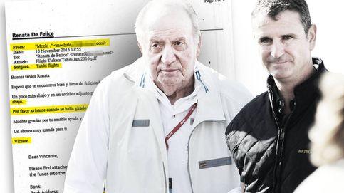El jefe de escolta de Zarzuela movió dinero de Juan Carlos I con un correo de Hotmail