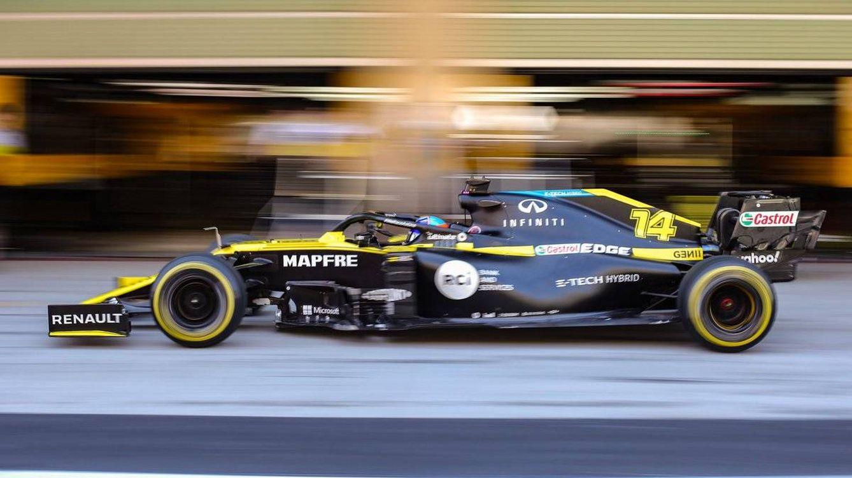 Decíamos ayer... Fernando Alonso vuelve con el RS20 como si nunca se hubiera ido
