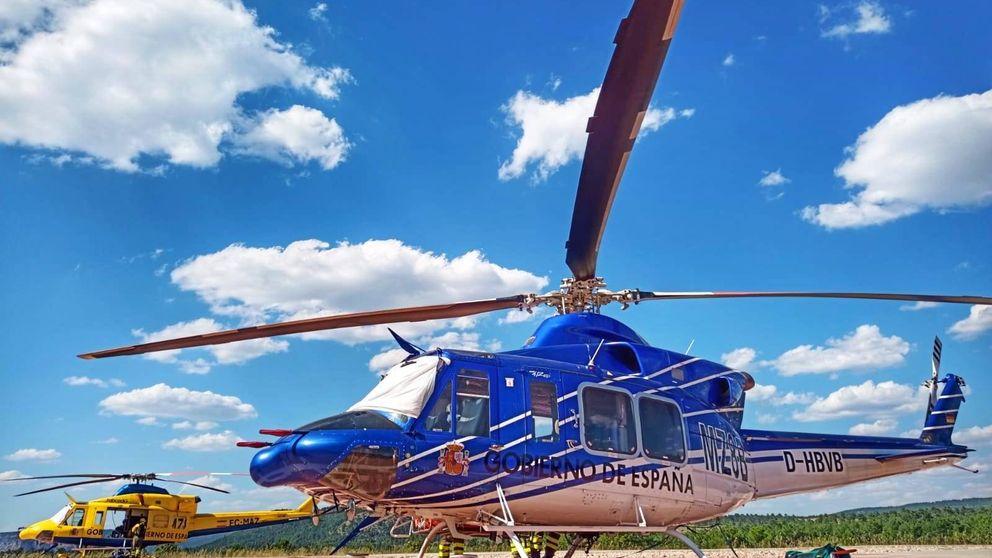 Localizan en Córdoba el helicóptero robado de la base contra incendios forestales de Cuenca