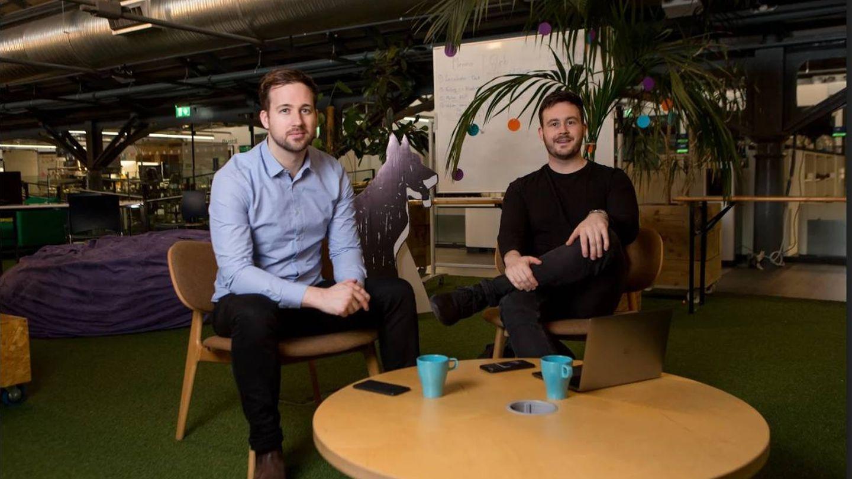 Los fundadores de HouseMyDog Timothy y James McElroy. (Imagen cedida)