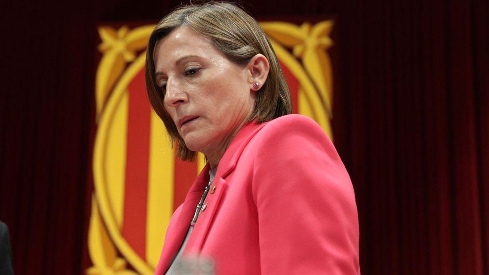 Foto: La presidenta del Parlamento de Cataluña, Carme Forcadell. (Reuters)