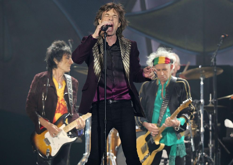 Foto: Concierto de Rolling Stones en Düsseldorf el pasado jueves (EFE)