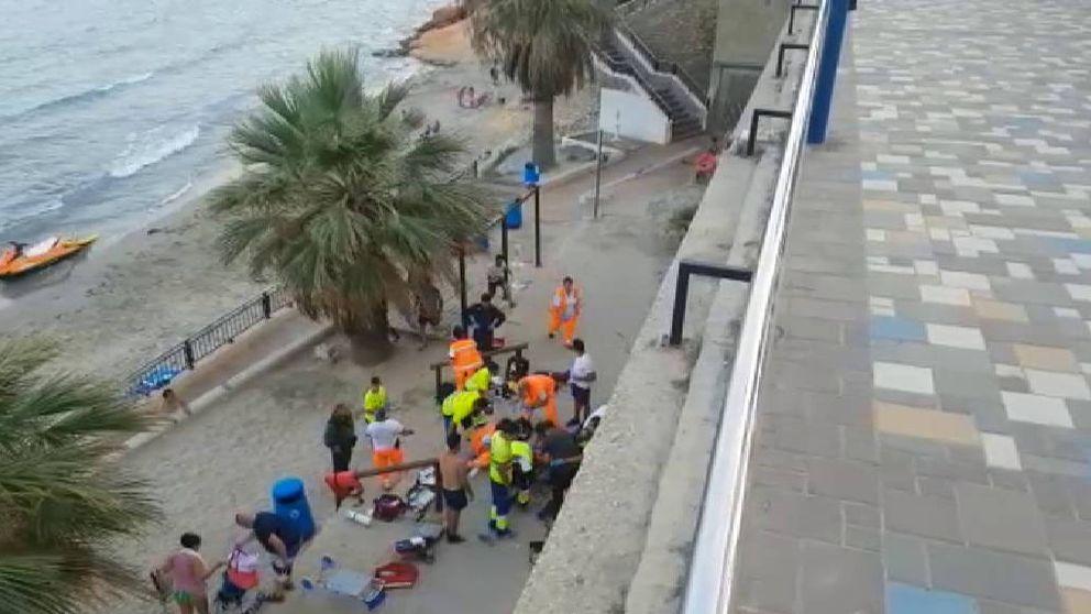 Muere un joven británico en Alicante al hacerse un selfie sobre un acantilado