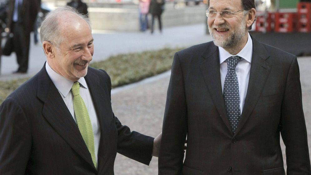 Foto: Rodrigo Rato y Mariano Rajoy en una foto de archivo. (EFE)