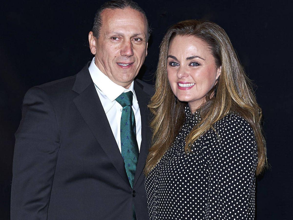 Foto: Carmen Morales y su marido, Luis Guerra, en una imagen de archivo. (Getty)